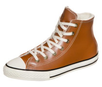 Chuck Taylor All Star Boot High Sneaker Kinder braun