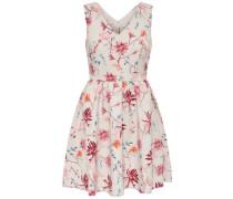 Kleid ohne Ärmel pink