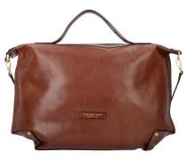 'Icons' Handtasche Leder 50 cm braun