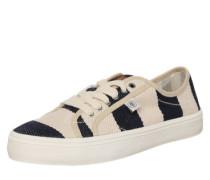 Sneaker Low creme / navy