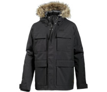 Funktionsjacke 'Point Barrow' schwarz