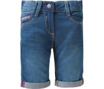 Regular Leichte Bermuda in Jeans-Optik blue denim