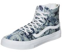 Sk8-Hi Slim Zip Indigo Tropical Sneaker Damen blau