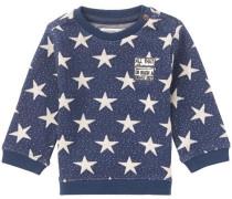 Pullover Gonzales blau / weiß