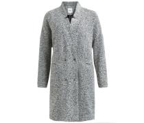 Woll-Jacke schwarz / weiß