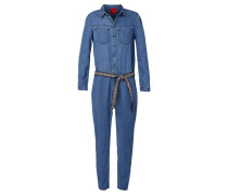 Overall blue denim