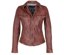 Lederjacke Honey braun