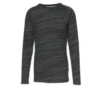 Shirt 'Classic raglan r t l/s' schwarzmeliert