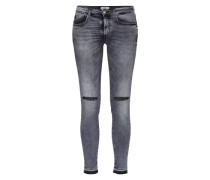 'Jea' Skinny Denim black denim