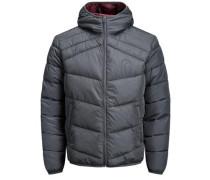 Trendige Wattierte Jacke graphit