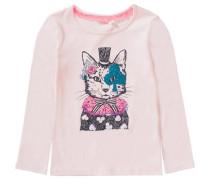 Langarmshirt mit Alice im Wunderland-Print für Mädchen rosa