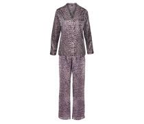 Satin-Pyjama lavendel