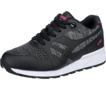 N9000 Sneakers grau / pink / schwarz