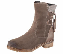Winterstiefelette taupe