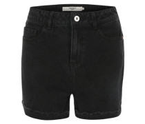 Jeansshorts 'hw' black denim