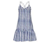 Sommerkleid 'vicoast /B' dunkelblau / weiß
