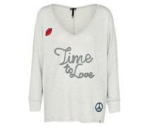 Pullover 'wls Forever' hellgrau