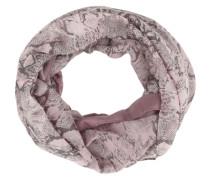 Loop mit Animalprint und Strasssteinchen pink