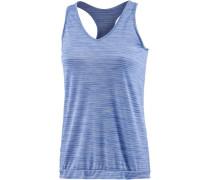 'fusex' Laufshirt Damen blau