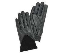 Elegante Leder-Handschuhe schwarz