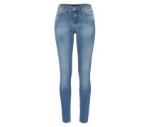 Skinny Jeans 'five Delly' blau