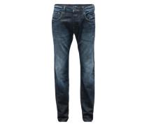 'Revend Straight' Jeans dunkelblau