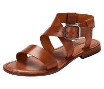 Sandale 'Leni' cognac