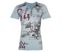Shirt 'MT Legendary button' hellblau / mischfarben