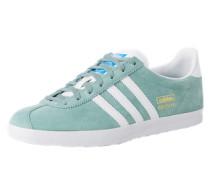 Sneaker aus Leder Gazelle blau / grün