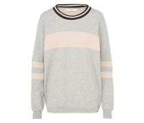 Sweater 'Nikko' grau / rosa