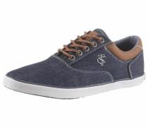 Sneaker blue denim / braun