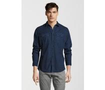 Freizeithemd Damon blau