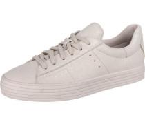 Sita Glitter LU Sneakers Low perlweiß