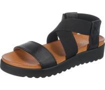Sandaletten 'Deia' schwarz
