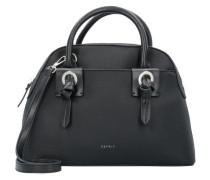Handtasche 30 cm schwarz