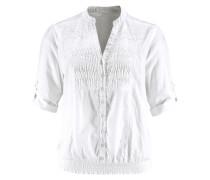 Klassische Bluse »Nadila« weiß