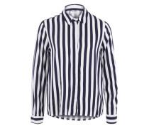 Streifen Hemd navy / weiß