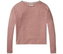 Langarmshirt 'thdw CN Knit L/S 40' rosa