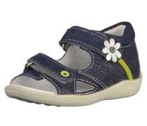 Sandalen blau / weiß