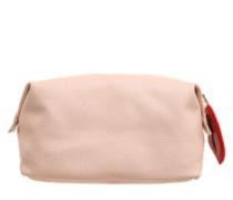 Kosmetiktasche 'Washbag-Nude' rosa / rot