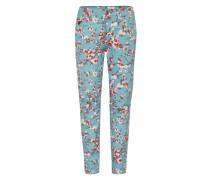 '5622 Elwood Uncovered' Mid Waist Jeans türkis / pink