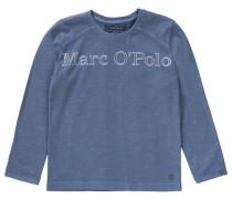 'Shirt' für Jungen blaumeliert
