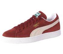 Sneaker 'Suede Classic+' bordeaux / weiß