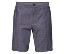 Shorts 'Classic short in yarn dyed quality' blau