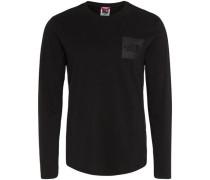 'Fine' Sweatshirt schwarz