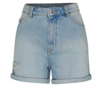 'Donna' Denim Shorts blau