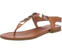 Sandaletten braun / cognac