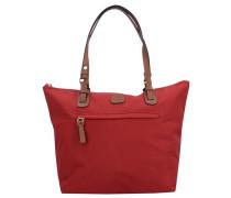 X-Bag Handtasche 25 cm rubinrot