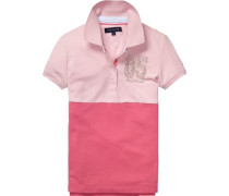 Polo »Colorblock Polo S/s« pink / rosa