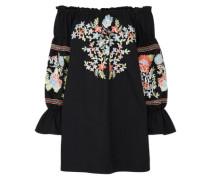 Mini-Sommerkleid 'fleur DU Jour' schwarz
